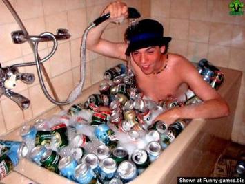 drunk teen