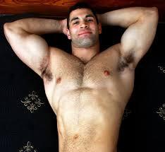 hunk hairy armpits