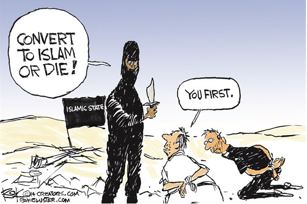 ISIS cartoon