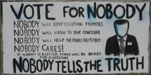 Compulsory voting banner