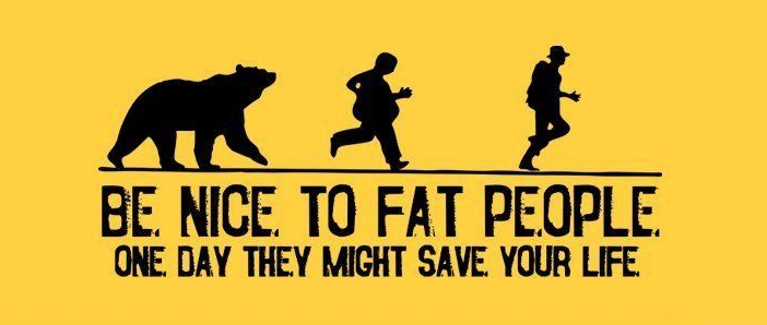 Fat people banner