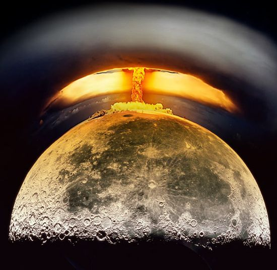 Image result for nuke the moon